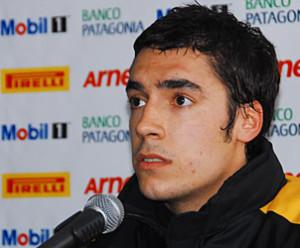 Agustin Calamari en el Arana Ingeneiria Sport