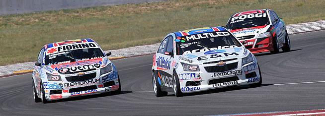 Pipkin y Pisandelli tirando juntos en la clasificación
