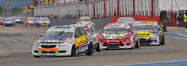 Cuarto puesto de Ortelli en San Luis con el Chevrolet Cruze