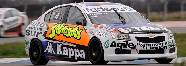 Ortelli en Toay con el Chevrolet Cruze del Arana Ingeniería Sport